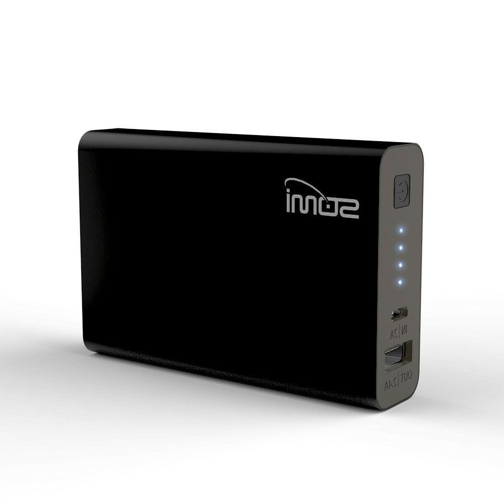 10 000mah portable charger w 2 4a