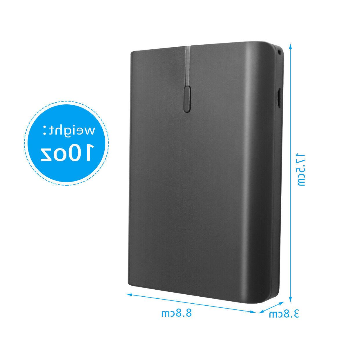 10000mAh Power Bank USB External Charger For