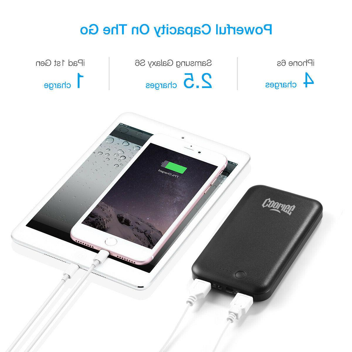 Cooligg Portable Battery Charger for
