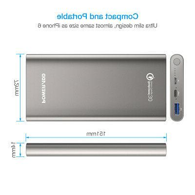 10000mAh Bank 3.0 Battery