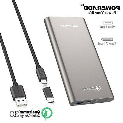 10000mah power bank qc 3 0 quick