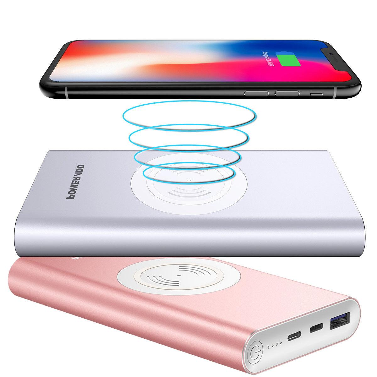 Poweradd 10000mAh 3 in 1 Power Bank Charger iPhone