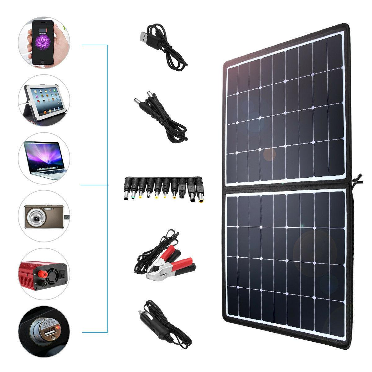 Poweradd 18V Foldable Panel Charger for Home