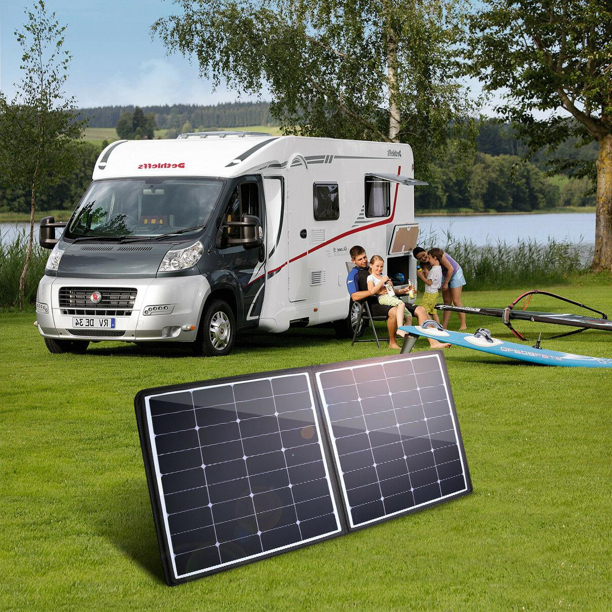 50W 12V Solar Charger For RV
