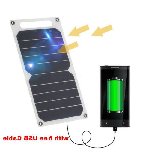 10W 5V Portable Solar Power Panel USB Charger For IPhone, Sa