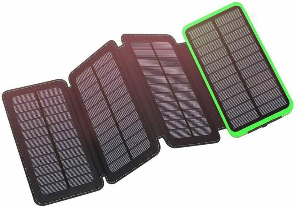 12000mAh Charger Outdoor 4 Panels NEW