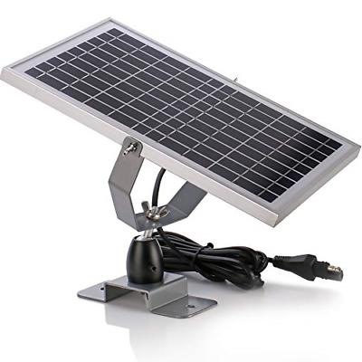 SUNER POWER 12V Waterproof Solar Battery Trickle Charger & M