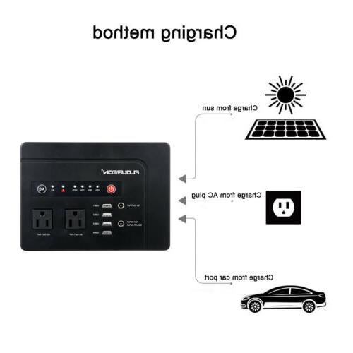 146Wh Portable Battery 2 AC Outlet 1.5KG
