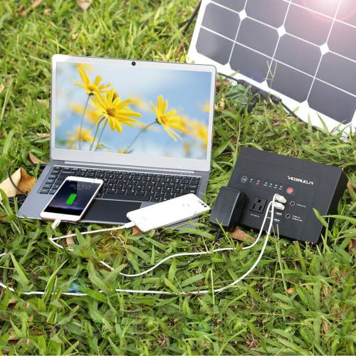 146Wh Power Bank Portable Charger 2 AC Outlet 1.5KG