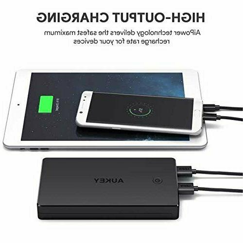 AUKEY Bank Portable Charger Dual External Pack