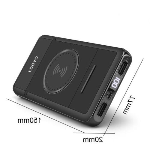 20000mAh Stand Power LCD Portable Battery