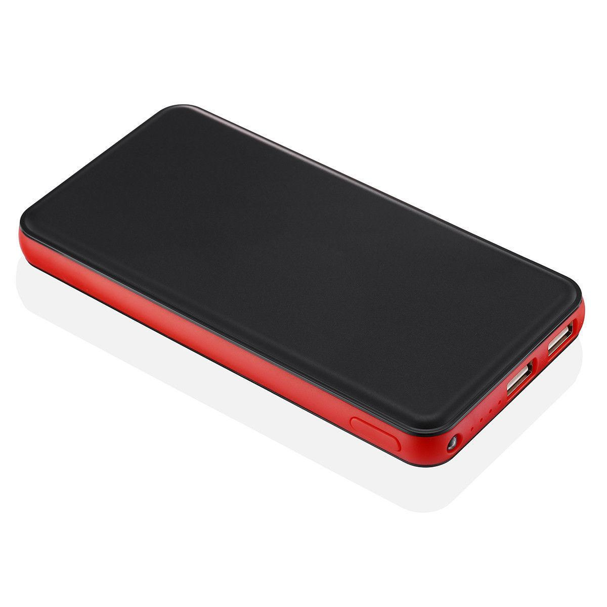 20000mAh 2 Portable External Power Battery Charger Cell Phone