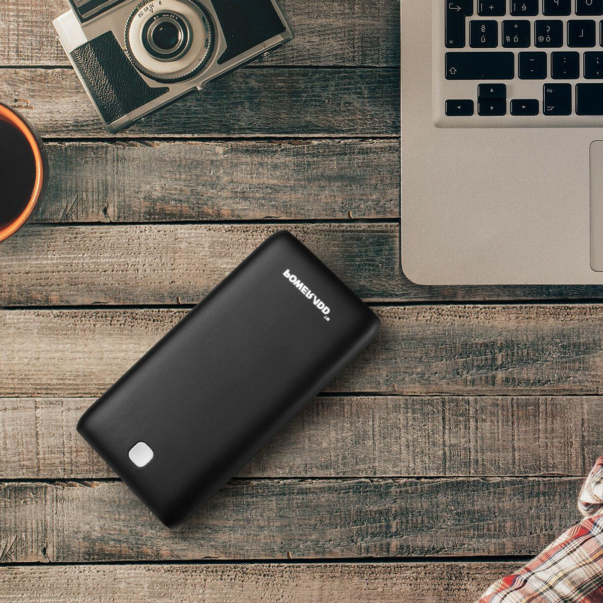 Poweradd 20000mAh Dual External