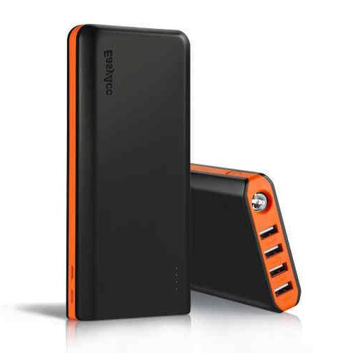 EasyAcc 20000mAh Portable Charger Fast Recharge Power Bank w