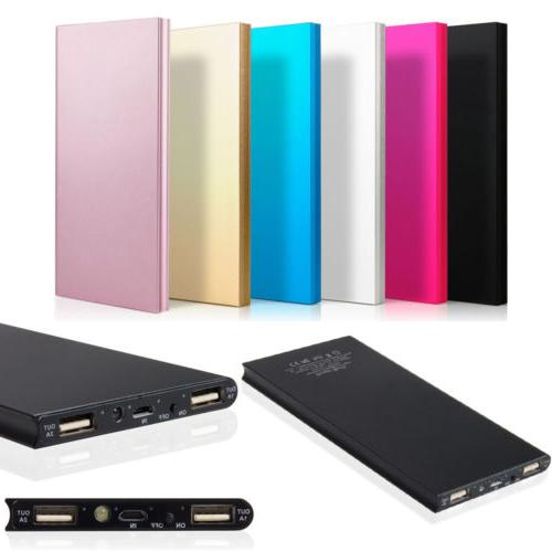 20000mAh Battery Charger Power Bank for iPhone HTC