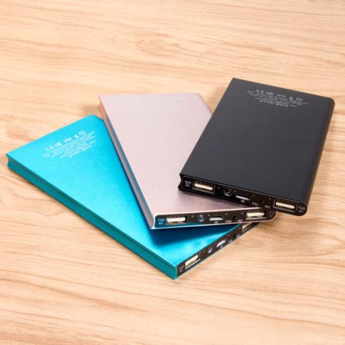20000mAh Portable External Battery Charger Bank iPhone Samsung