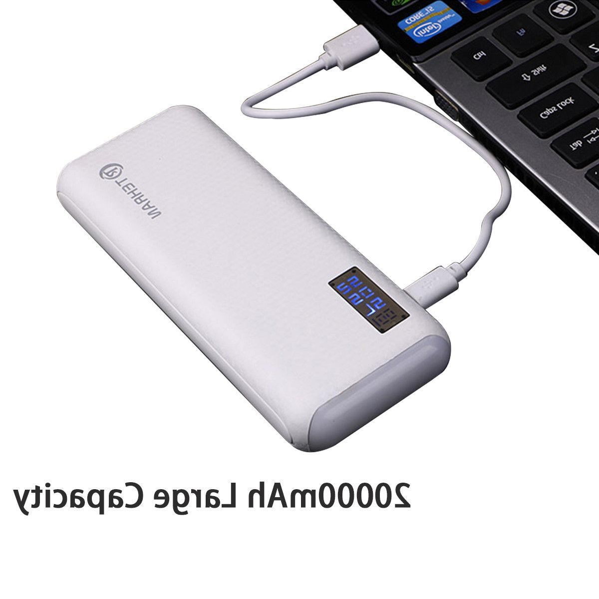 20000mAh External Battery Charger Mobile Phone