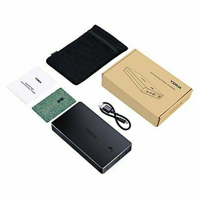 AUKEY 20000mAh Bank Portable Charger with Inputs 3.4A