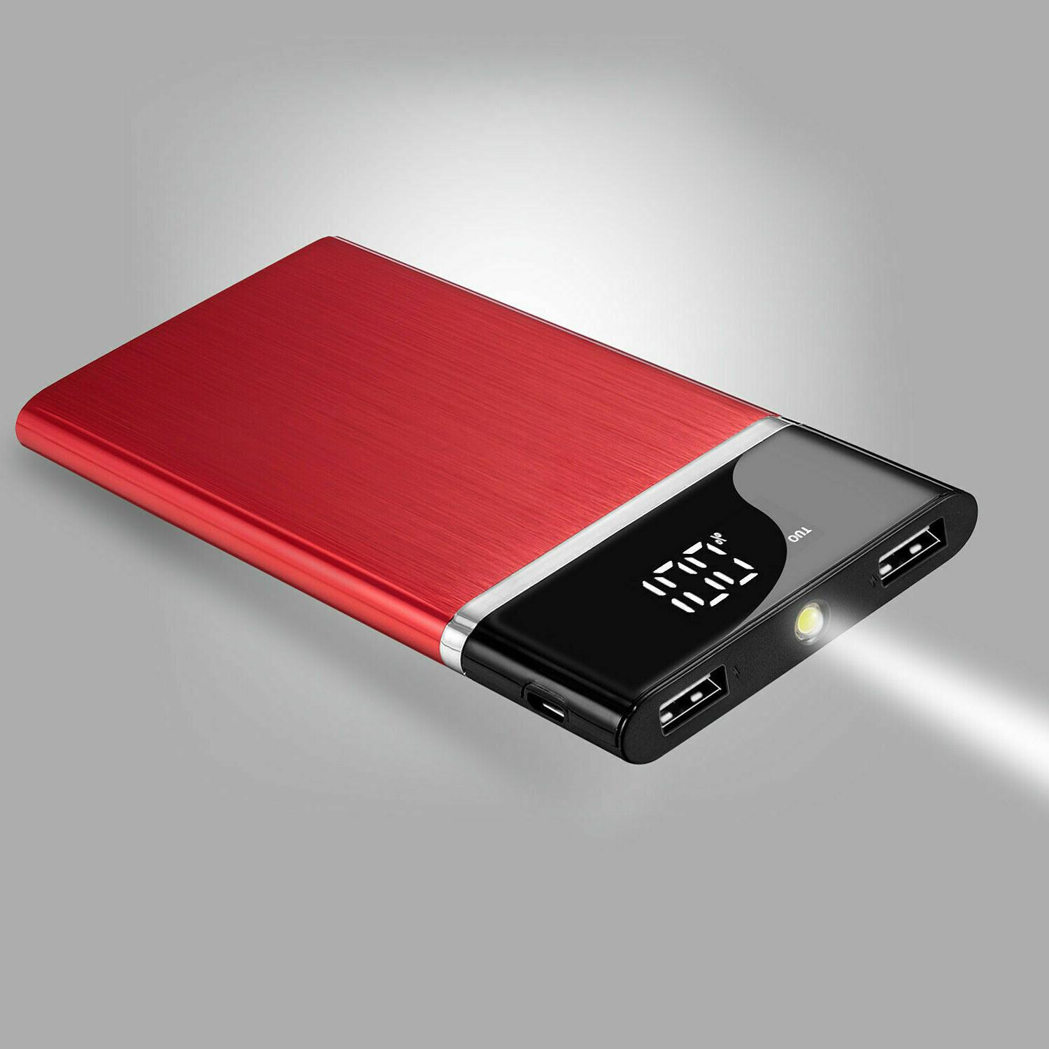 2019 New Battery Huge Capacity Power Bank 900000mAh Charger