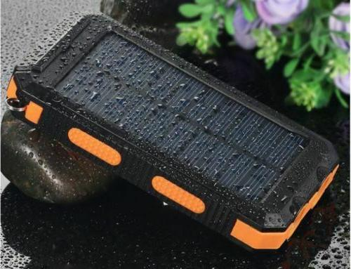 2020 Solar Bank Battery Charger US