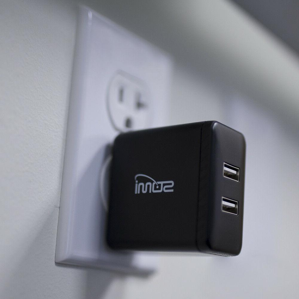 SoMi Dual Smart Fast Wall Charger
