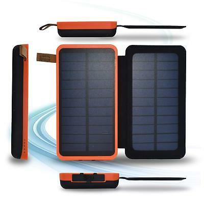 SPEEDWOLF Dual Chargers Solar...