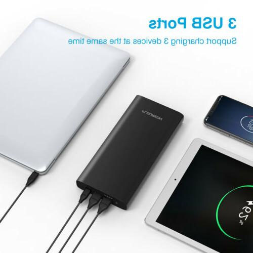 26800mAh PD Power Bank Charger Type-C 3 USB Fast for iPhone
