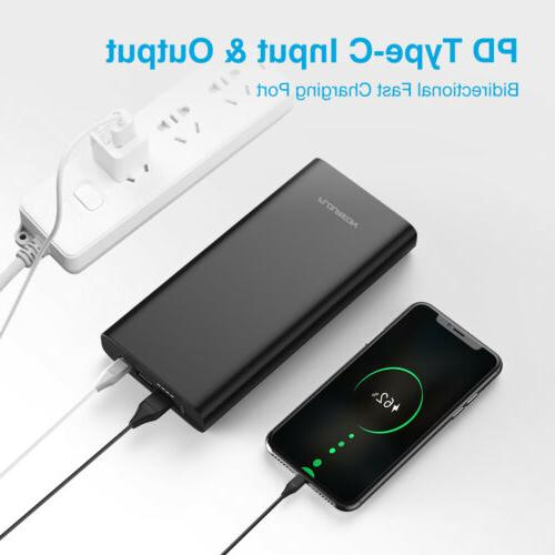26800mAh PD 60W Power 3 Fast for