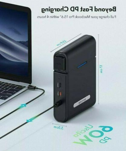 RAVPower Outlet Portable Charger 60W PD Bank