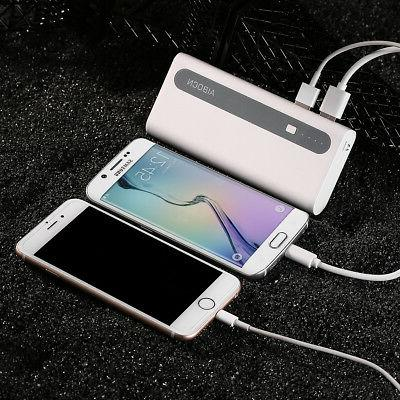 2PCS Portable Charger iPhone Phones