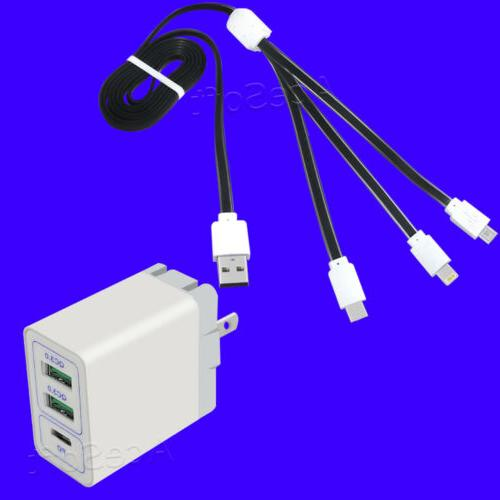 30w with power delivery portable 3 port