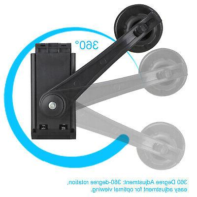 360° Mirror Mount Stand Cradle For GPS