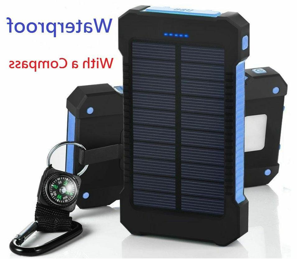 2020 Portable Solar Battery Solar Power Bank Phone