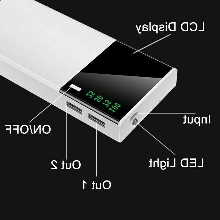 500000mAh Bank External Battery Charger for Cell