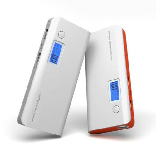 Portable LED LCD Power Backup Cell Phone