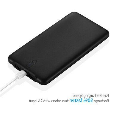 Poweradd 50000mAh Port Portable Quick Charger for Cell Phone