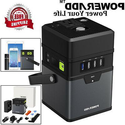 50000mah portable dc ac power inverter multifunction