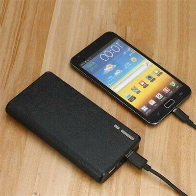 Slim Power Bank Portable Charger For Cell Phone with extra D