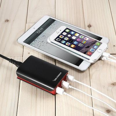 8A Port Portable Charging Dock Adapter