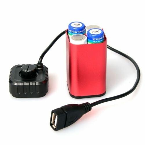 5v usb 4x aa battery waterproof portable