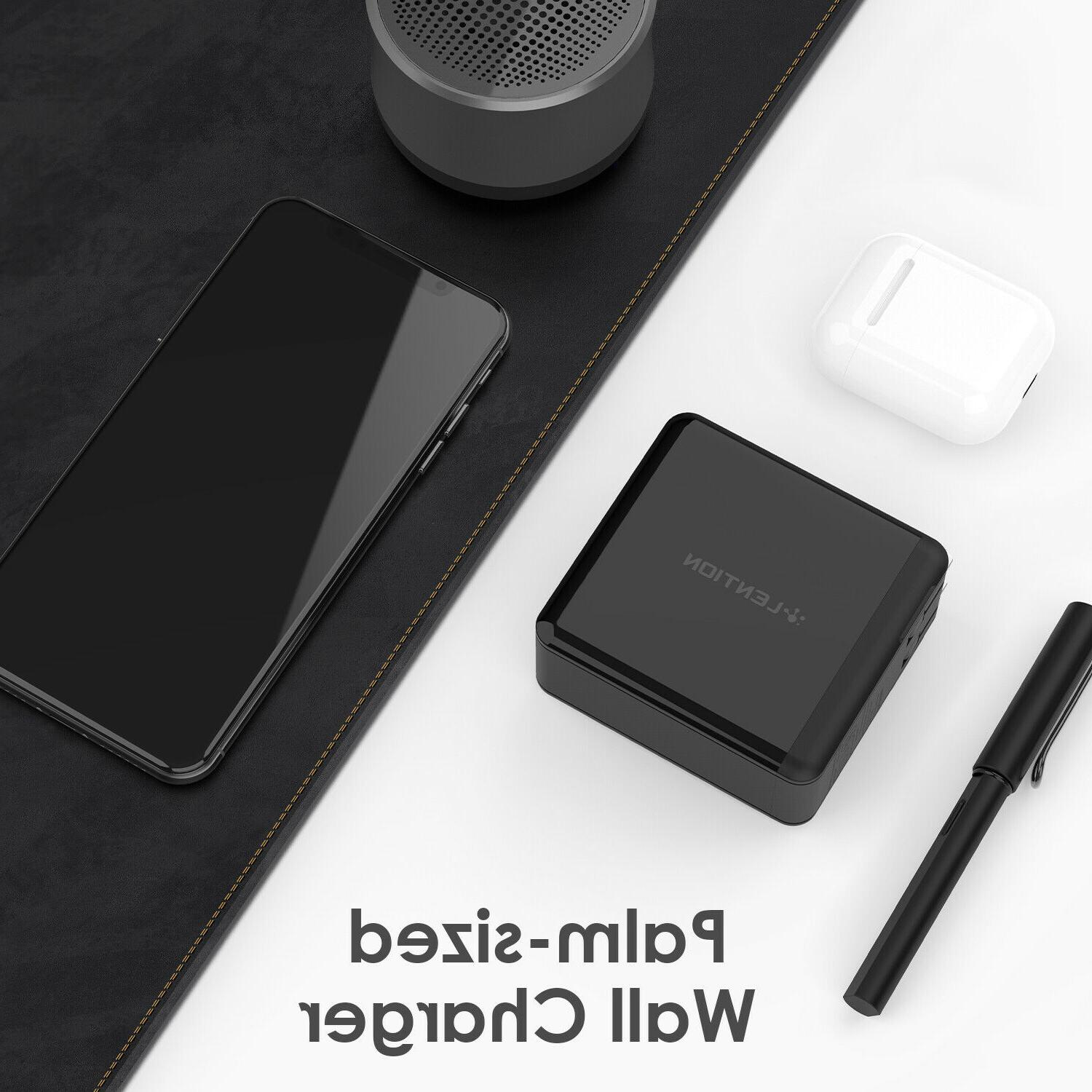LENTION Fast Charger PD QC3.0 for iPhone