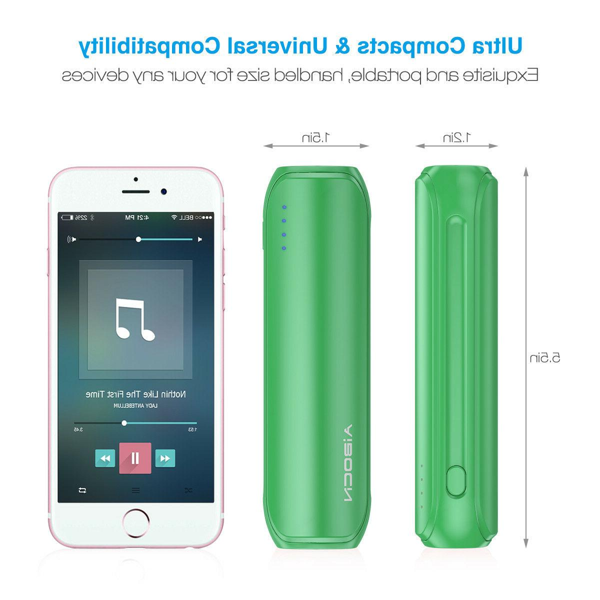 8000mAh Bank Mobile Portable Fast Battery Charger for Cell