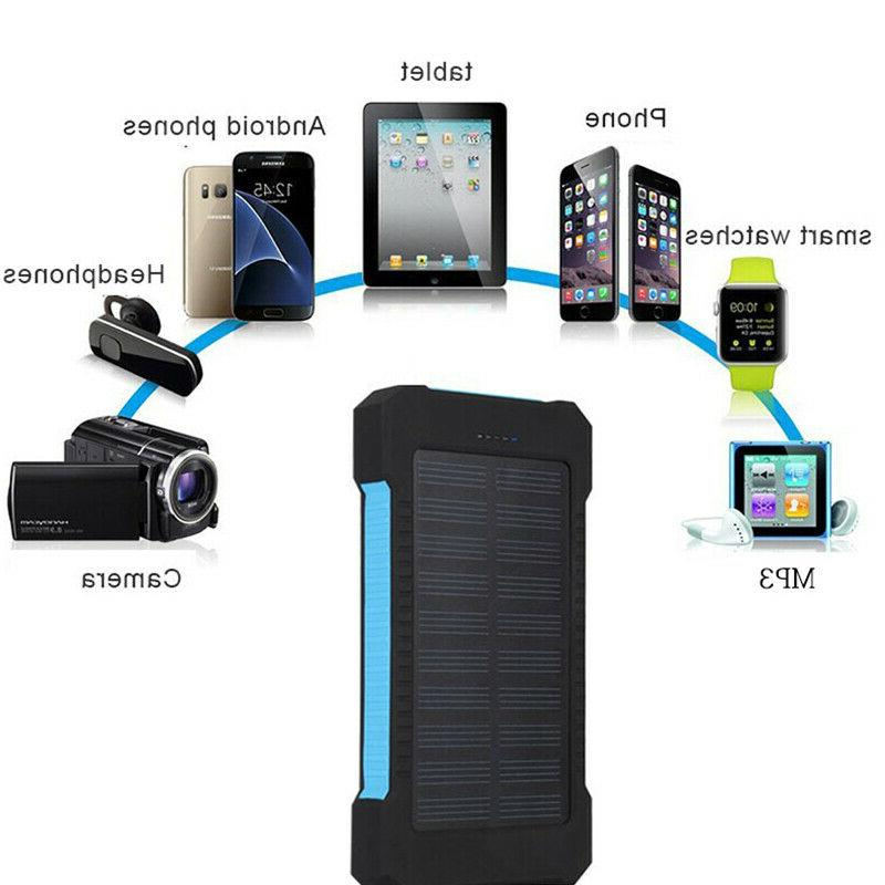 900000mAh Capacity Portable External Battery Charger