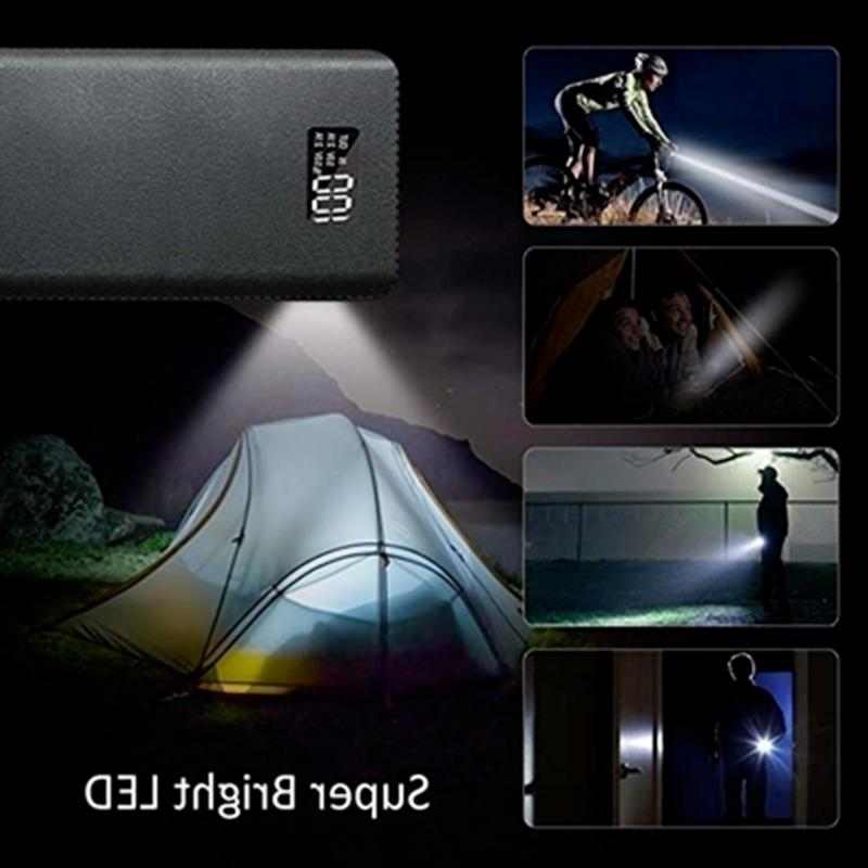 900000mAh Portable Bank 4USB External Backup Charger