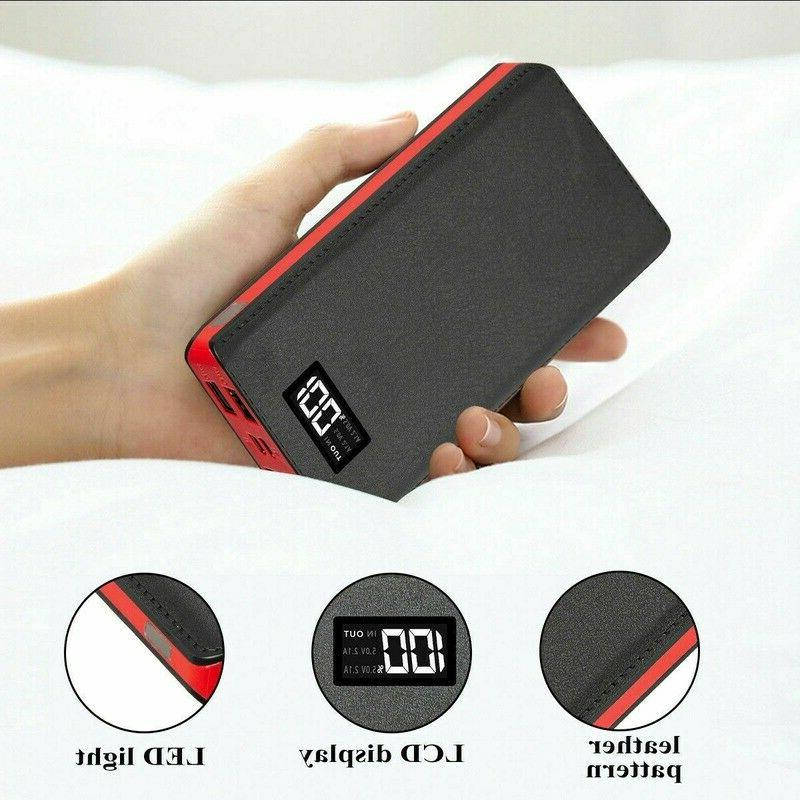 900000mAh 4USB Battery Backup Charger Fast