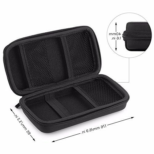 EasyAcc Power Bag for Anker Premium Carrying Pouch Battery Portable Charger, Hard Drive, Earphones, –