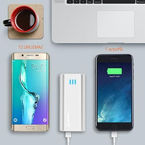 Jackery mAh External - Power Bank Battery Shell for iPhone, Galaxy & Other Devices