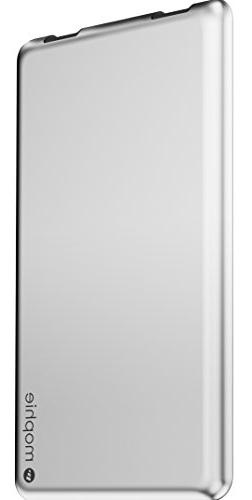 Mophie - Powerstation 3x Portable Charger - Silver Aluminum
