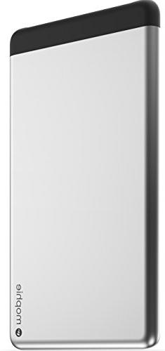 Mophie - Powerstation 5x Portable Charger - Silver Aluminum