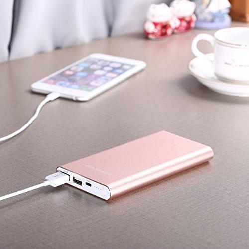 POWERADD Portable Battery with 3A High-Speed Output Compatible with and More Gold
